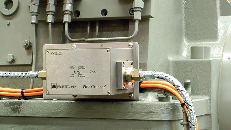 「ウェアスキャナー」インライン金属摩耗紛監視センサ